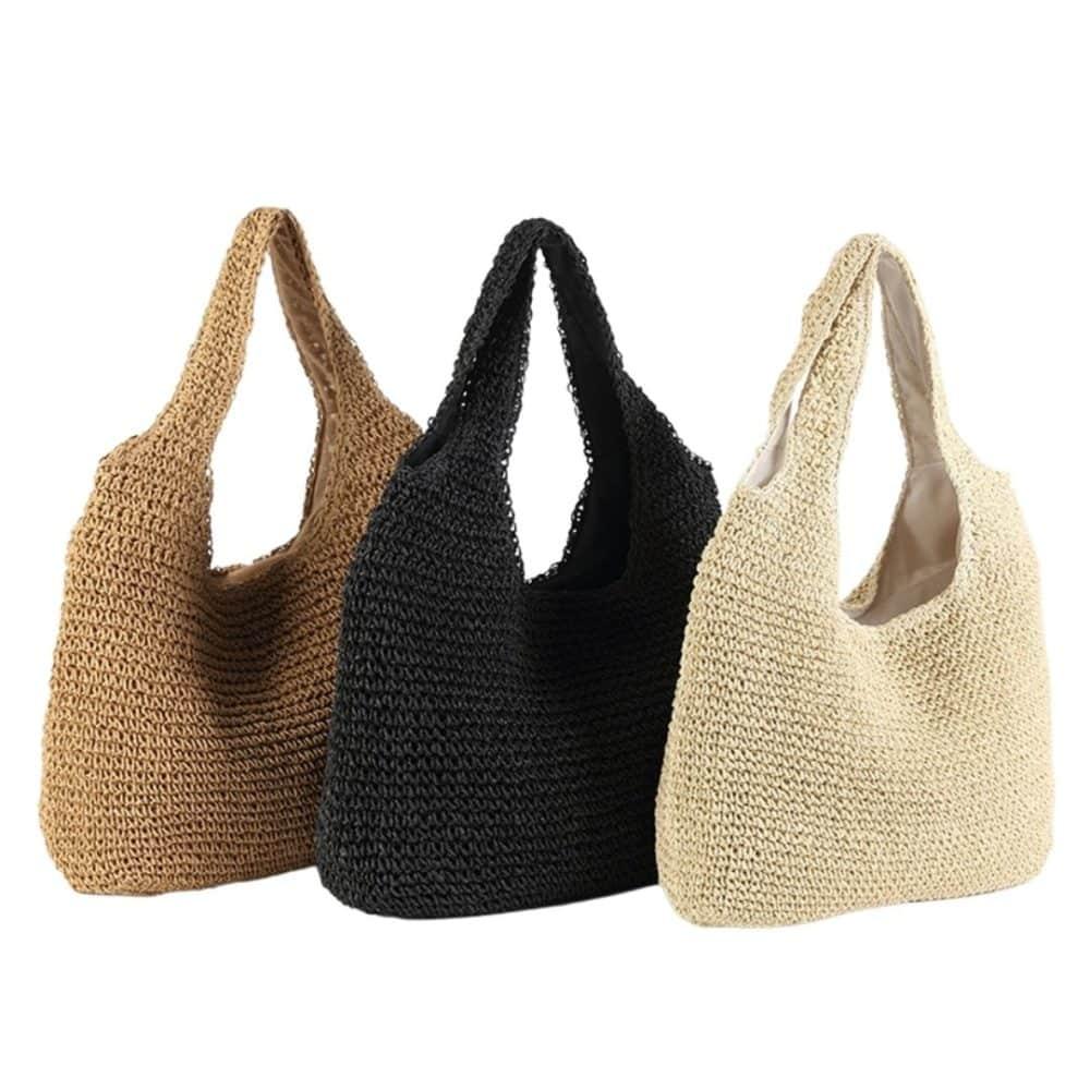 Sac de plage en rotin - Miss Pareo le spécialiste des sacs de plage.