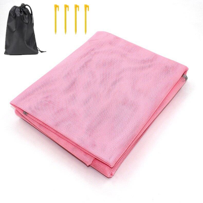 Serviette de plage XXL anti sable rose