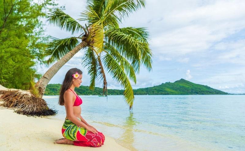 paréo tahitien
