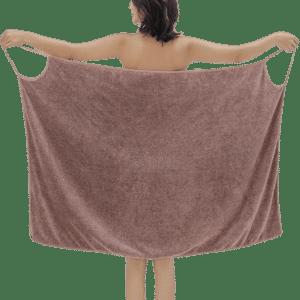 robe de bain pour femme unie2