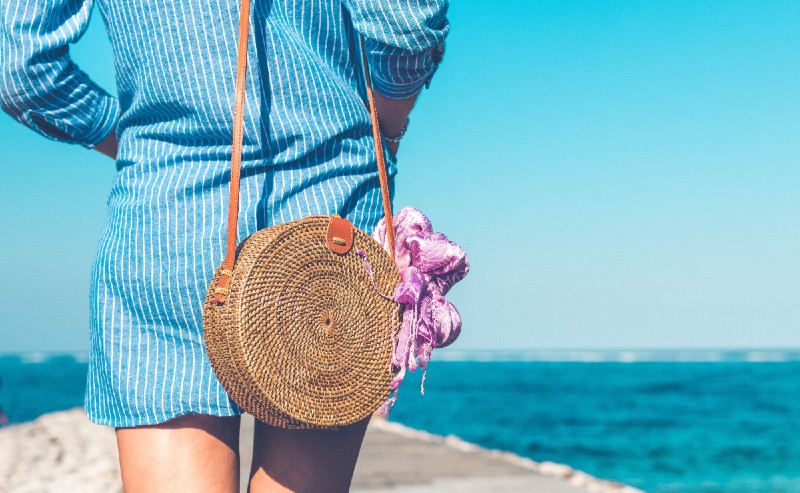 sac de plage femme