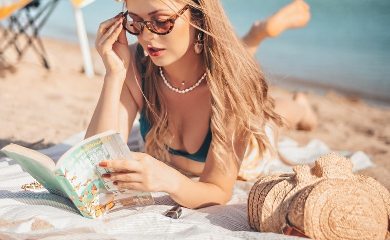 serviette de plage femme