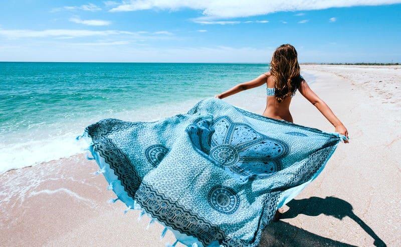 serviette plage xxl
