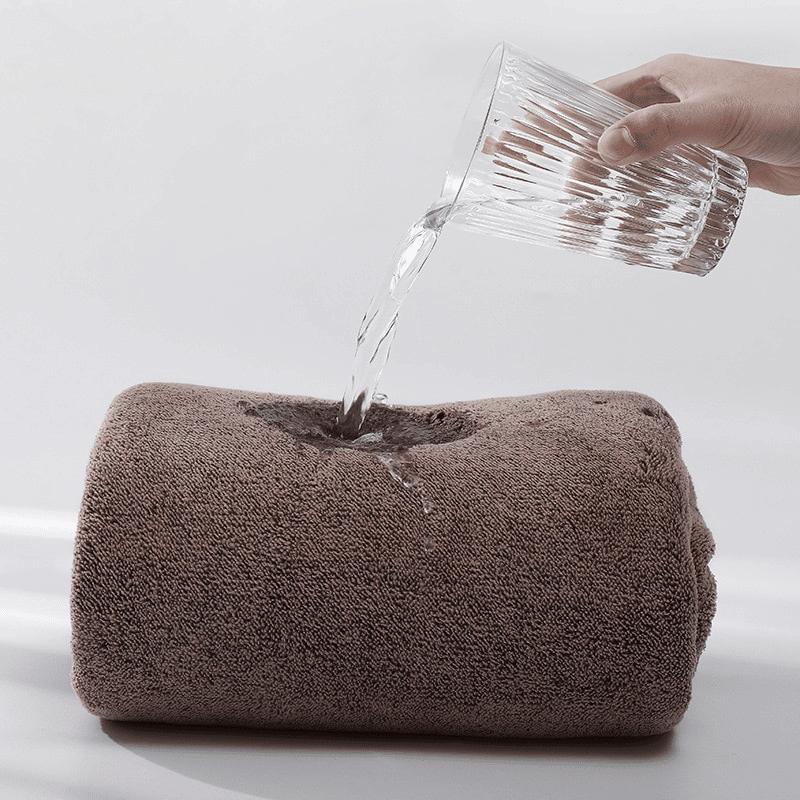 Pareo de bain éponge ultra absorbant detail absorbant