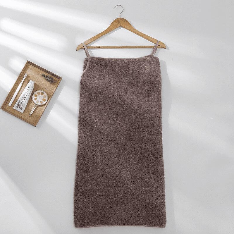 Pareo de bain éponge ultra absorbant bordeaux