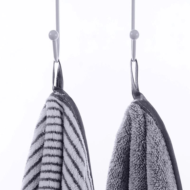 Serviette de plage en fibre de bambou détail 2