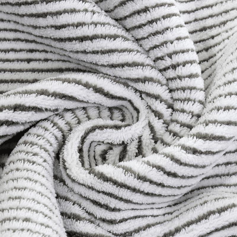 Serviette de plage en fibre de bambou détail