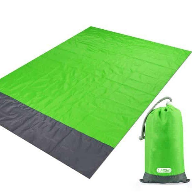 Serviette de plage XXL imperméable vert