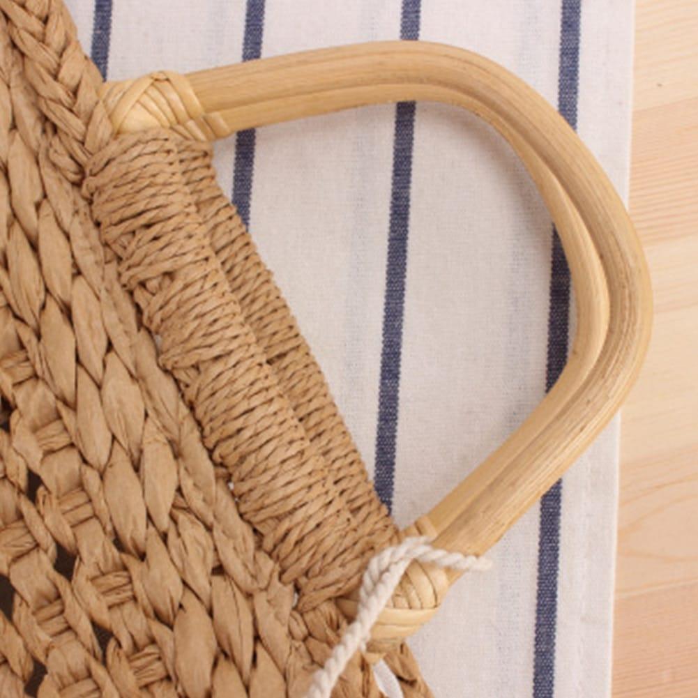 Sacoche de plage pour femme détail externe