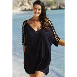 Robe de plage courte grande taille pour femme 2