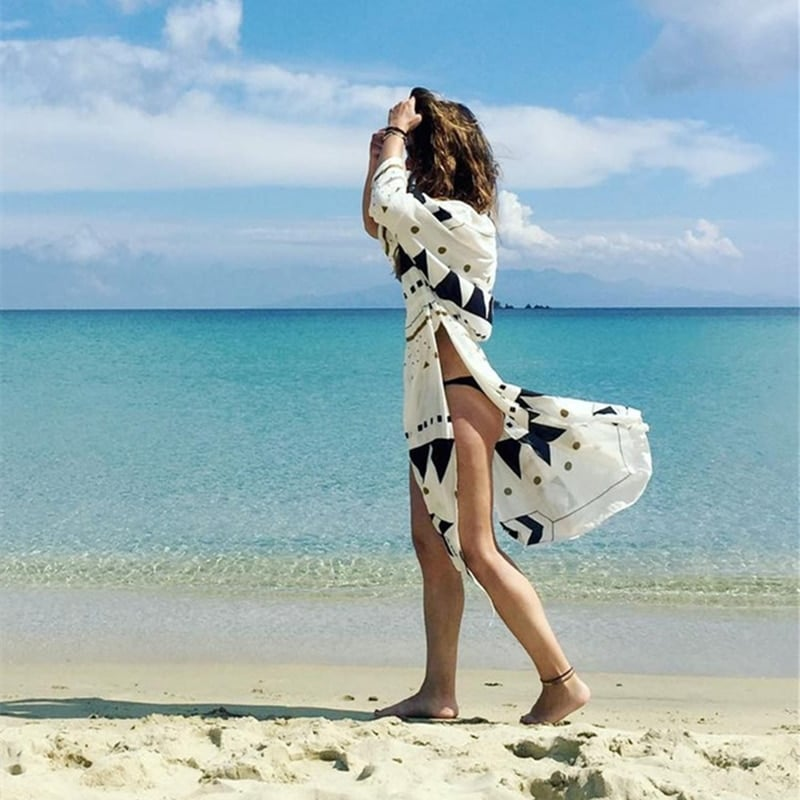 Robe de plage d'inspiration scandinave 1