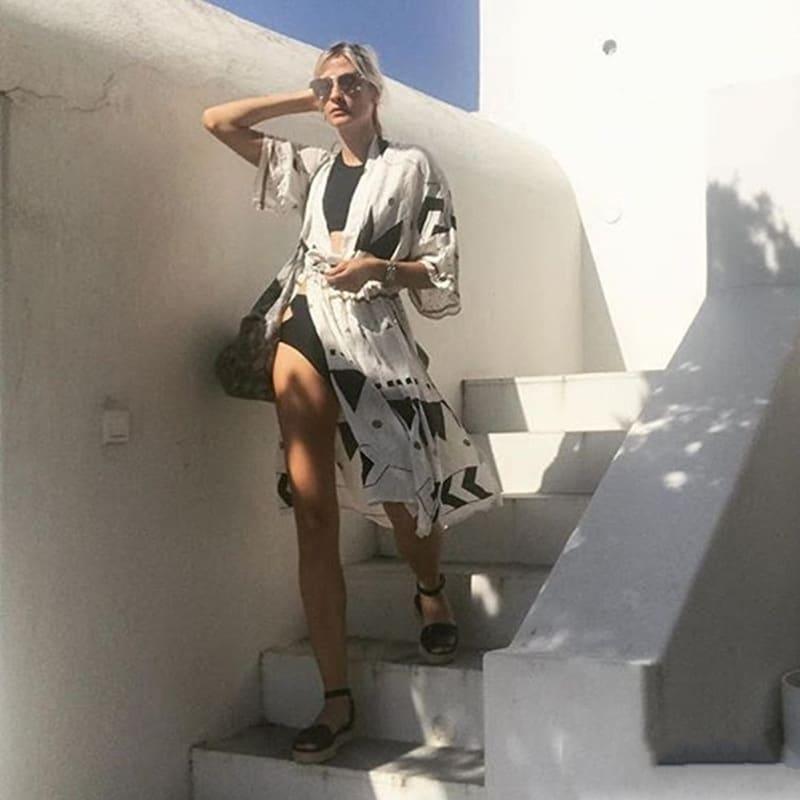 Robe de plage d'inspiration scandinave 2