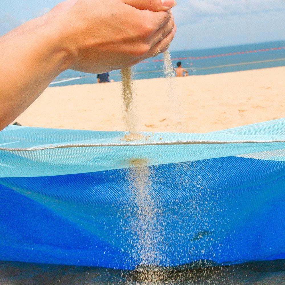 Serviette de plage XXL anti sable detail