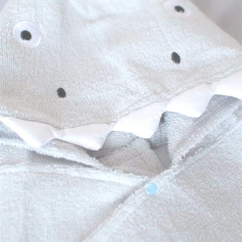 Serviette de plage à capuche pour enfant detail 1