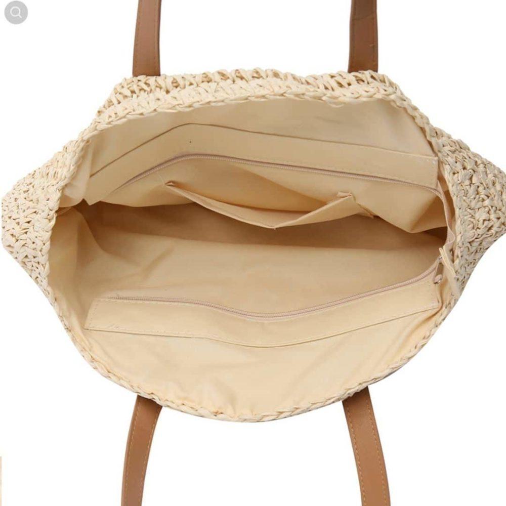 Sac rond paille Beige - Miss Pareo - La tendance des sacs ronds en paille Beige