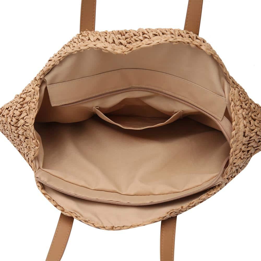 Sac rond paille Marron - Miss Pareo - La tendance des sacs ronds en paille marron